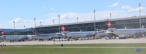 View from ZRH Terminal B