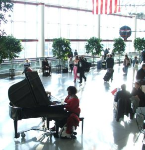 CLT Airport Piano