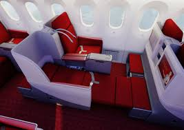 Business Class on the 787