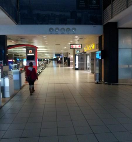 5:30am Empty Domestic Terminal