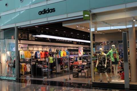 Adidas Barcelona Airport