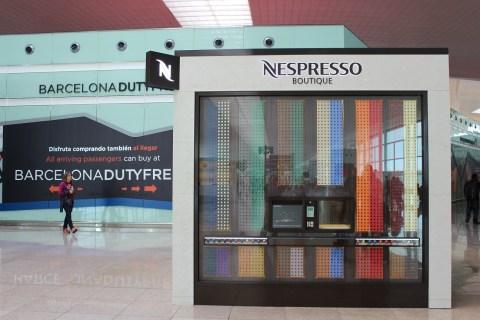 Nespresso Barcelona Airport