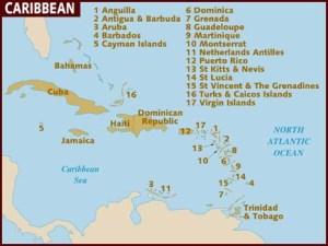 map_of_caribbean