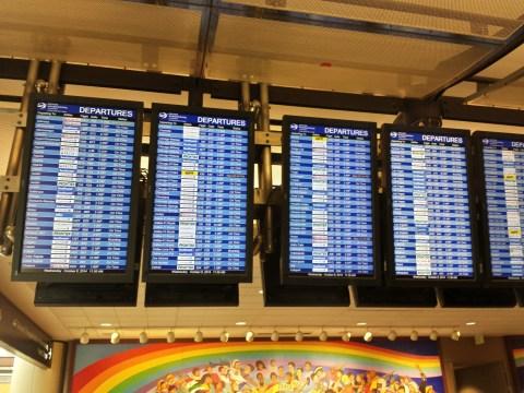 DEN Flight Board