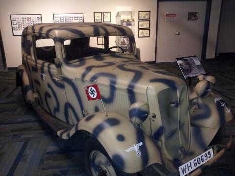Nazi Armored Car