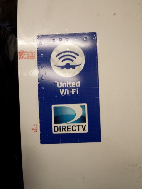 United 1241 - In-Flight Wi-Fi