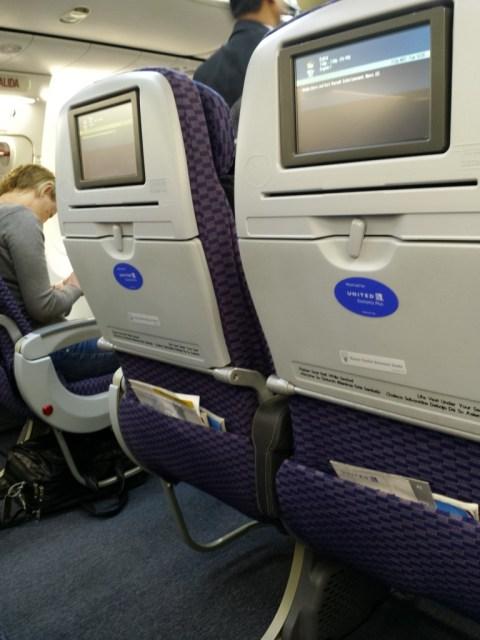 United 1241 - Seats