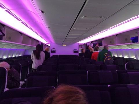 The Cabin - Air New Zealand Flight NZ2