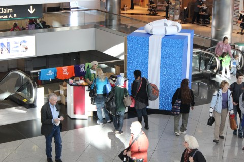 Denver Airport Gift Promotion - Terminal C