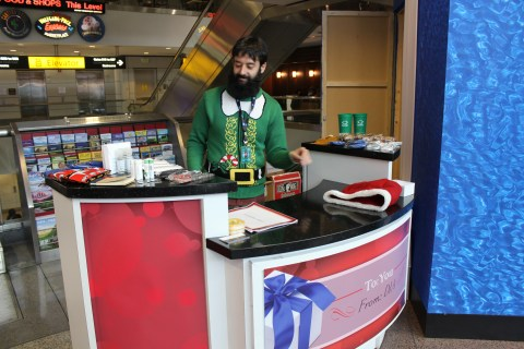 Denver Airport gift promotion - Terminal B