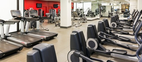 ORD - Top 5 best airport fitness spots at the Hilton Hotel