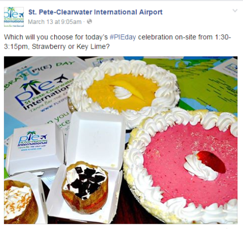 Pi Day At PIE Airport