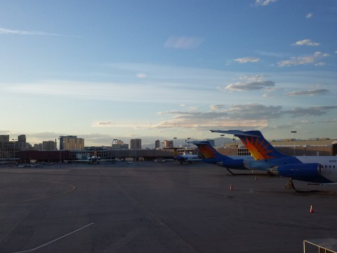 (LAS) McCarran International Airport Sunset