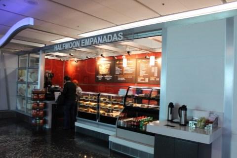 Half-Moon Empanadas in the Marketplace - MIA Airport