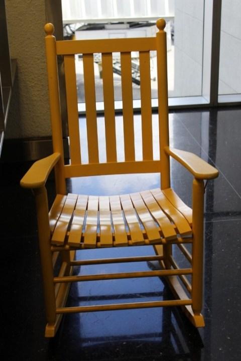 MIA Airport Ricking Chair
