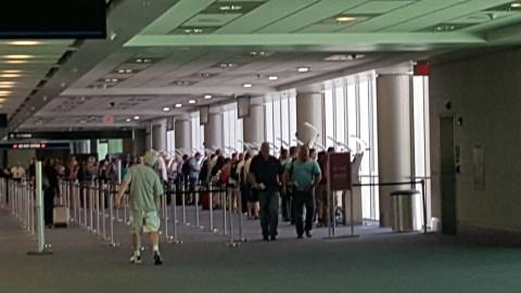 MIA Airport immigration kiosks