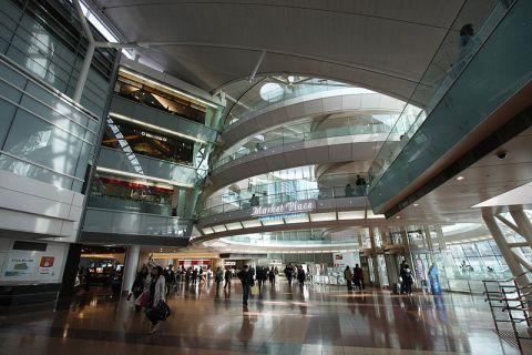 Tokyo Haneda Airport - Marketplace - care of RGB256