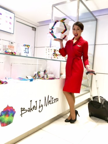 Baked by Melissa and Delta celebrate an aviation Valentine's