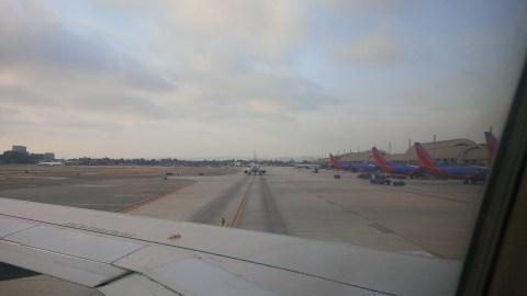 Departing John Wayne Airport