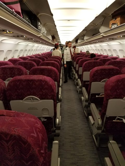 Qatar Airways flight