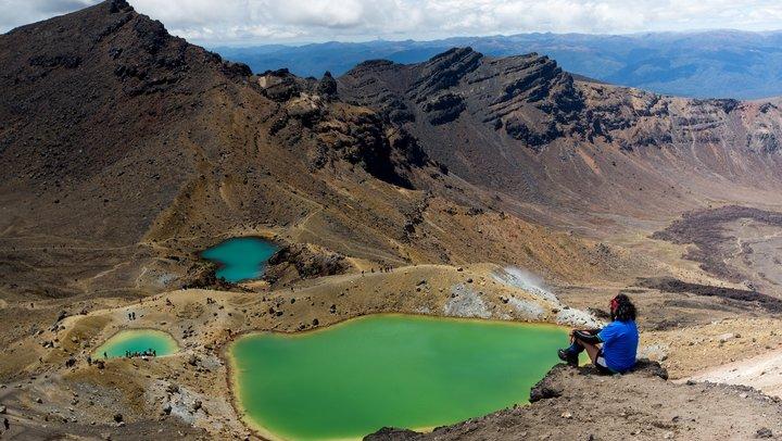 Tongariro Alpine Crossing in New Zealand