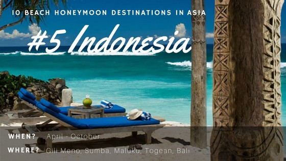 Indonesia has many islands and they are some of the best places to visit in Asia