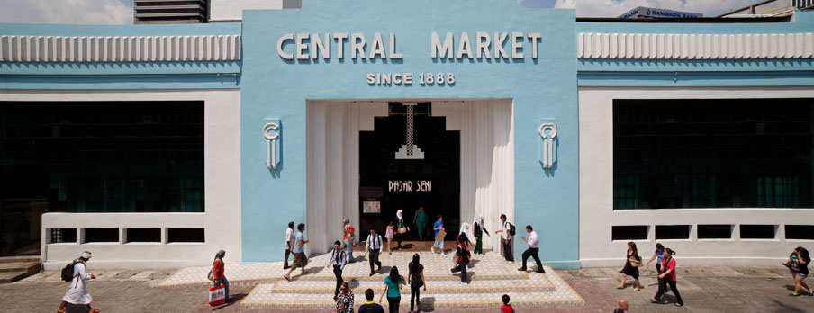 Central Market is one of Kuala Lumpur best places to visit