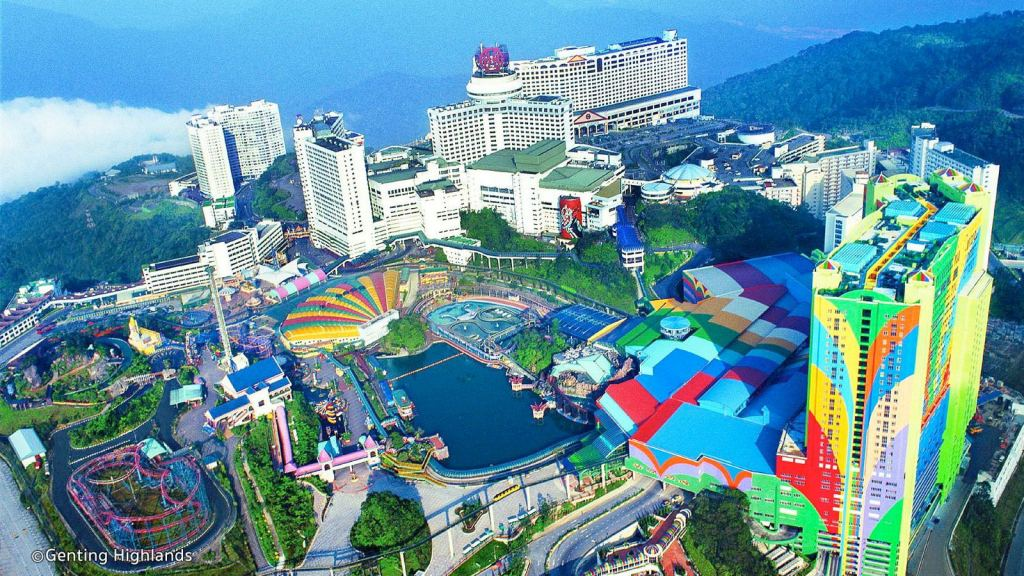 Genting theme park Malaysia is one of the best places to visit in Malaysia holidays
