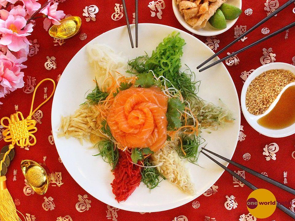 Zuan Yuan Chinese Restaurant Halal Yee Sang