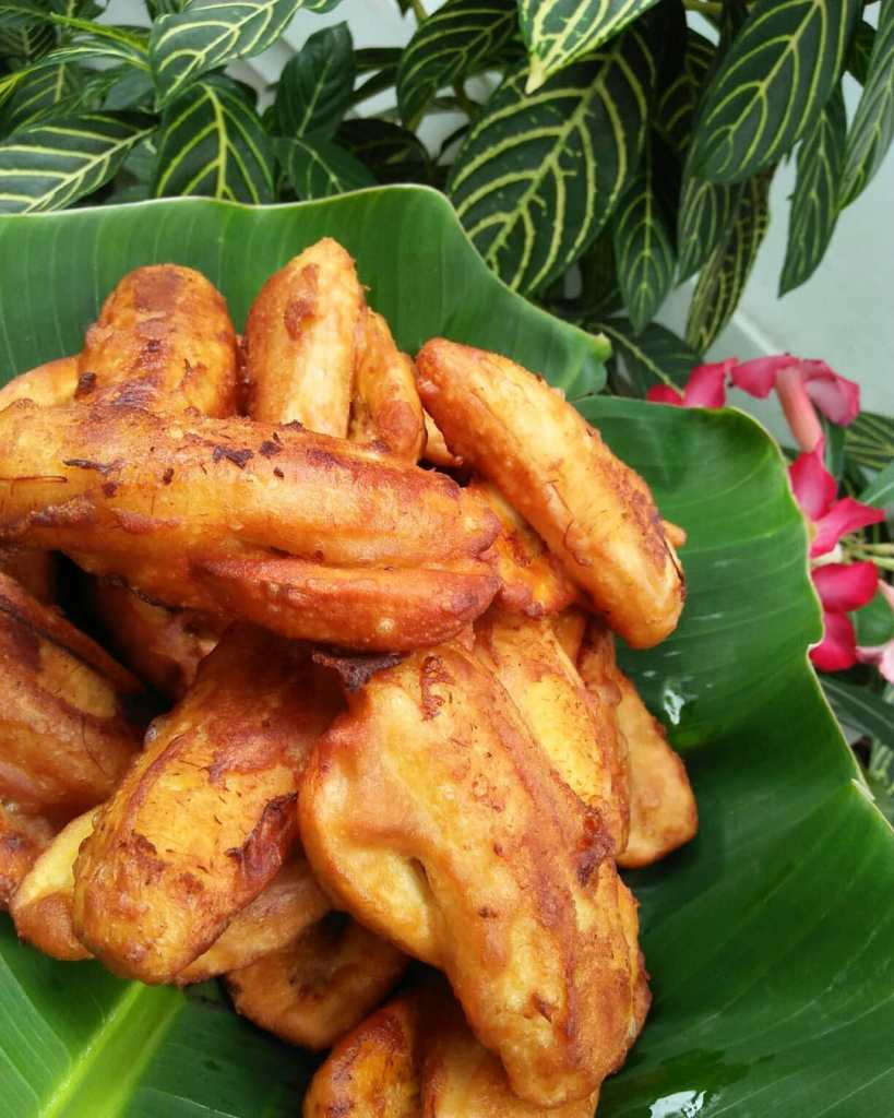 Maruya; this is the Filipinos' version of the common Asian's dessert, the banana fritters.