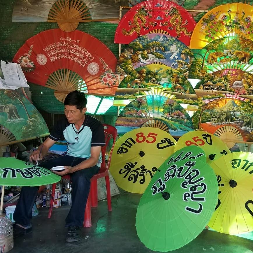 Bo Sang Handicraft Centre, Chiang Mai