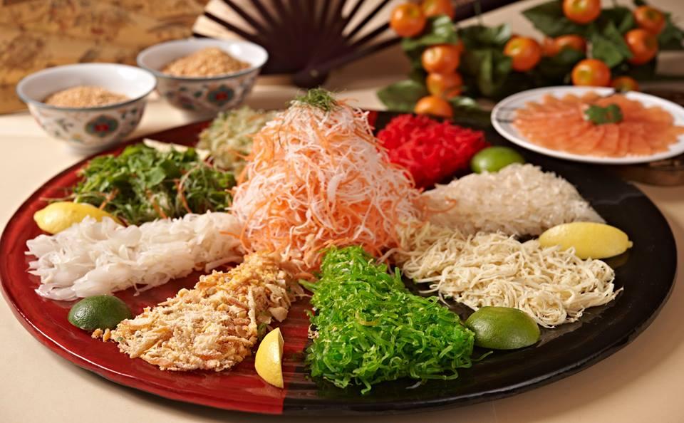 Halal Yee Sang in KL