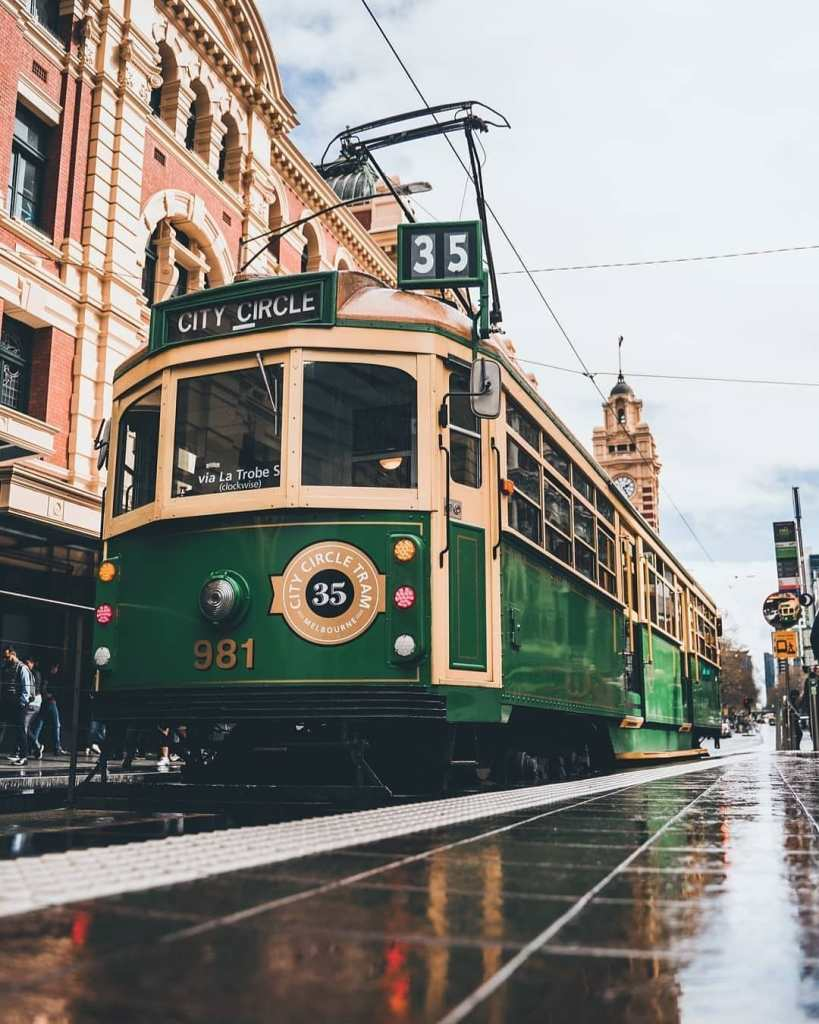 Things To Do In Melbourne: Ride the City Circle Tram
