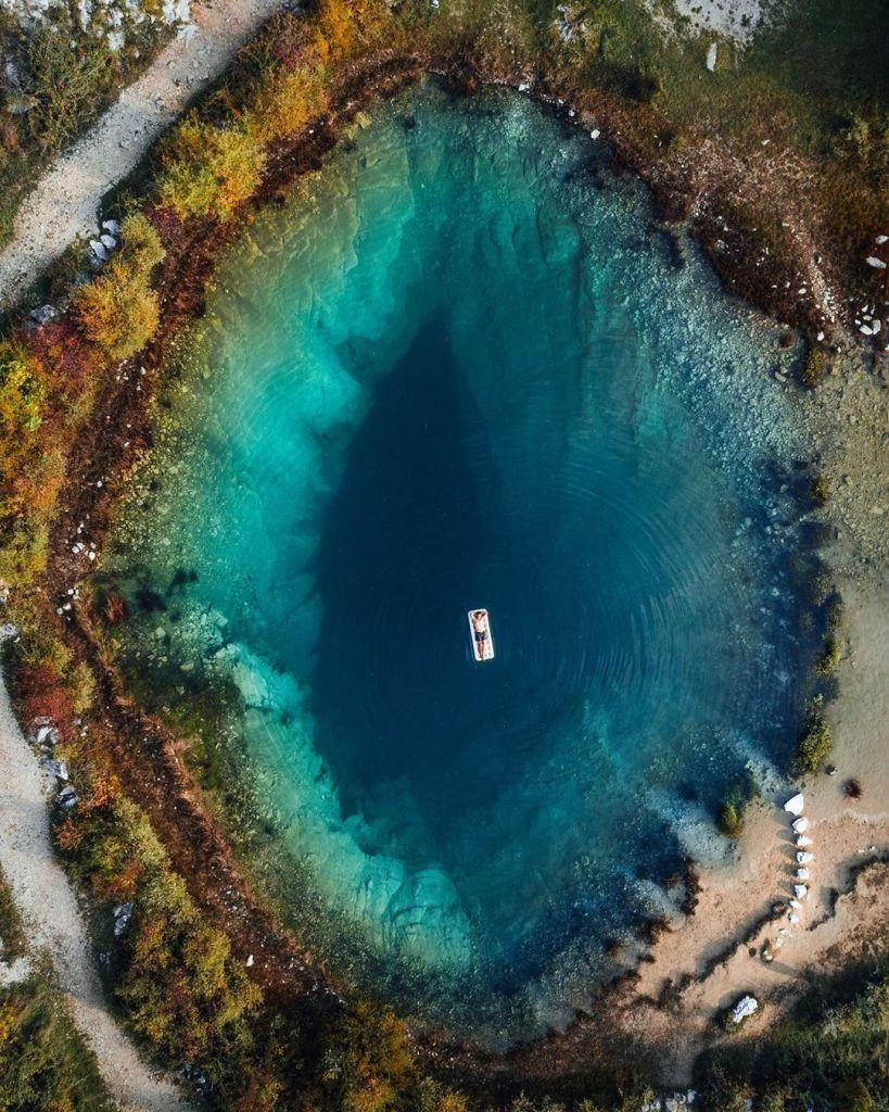 Tasik indah dunia di croatia
