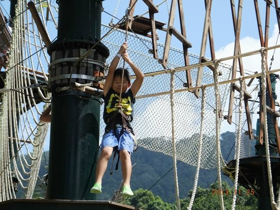 Penang Escape park is one of the best places to see in Malaysia, Penang island