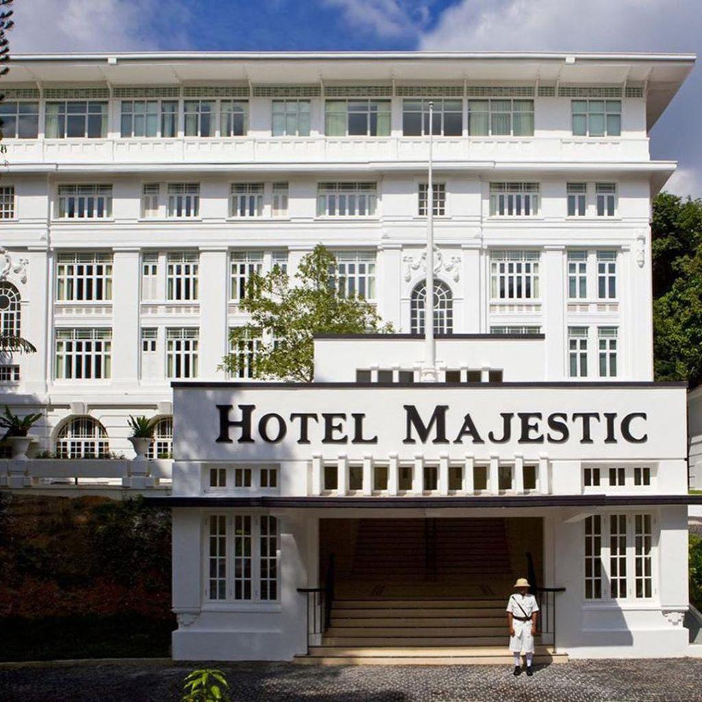 Back Entrance of Hotel Majestic Kuala Lumpur