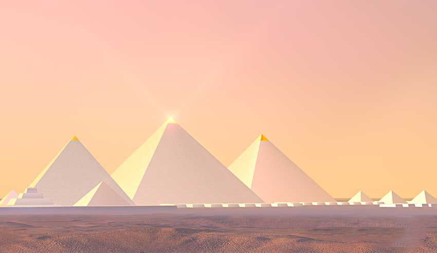 Senibina piramid