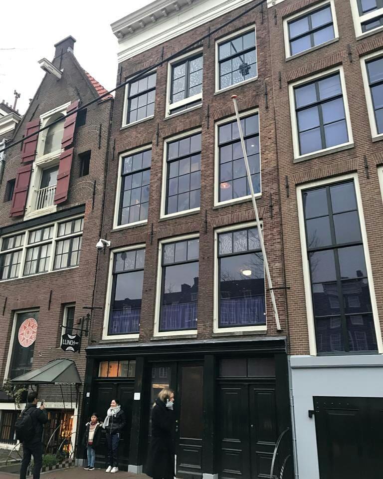 The Anne Frank House (Dutch: Anne Frank Huis)