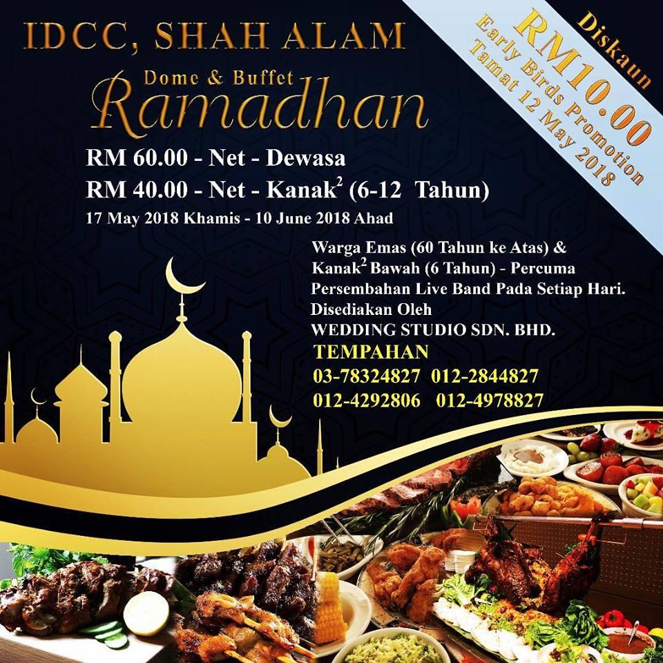 Bufet Ramadan @ IDCC, Shah Alam