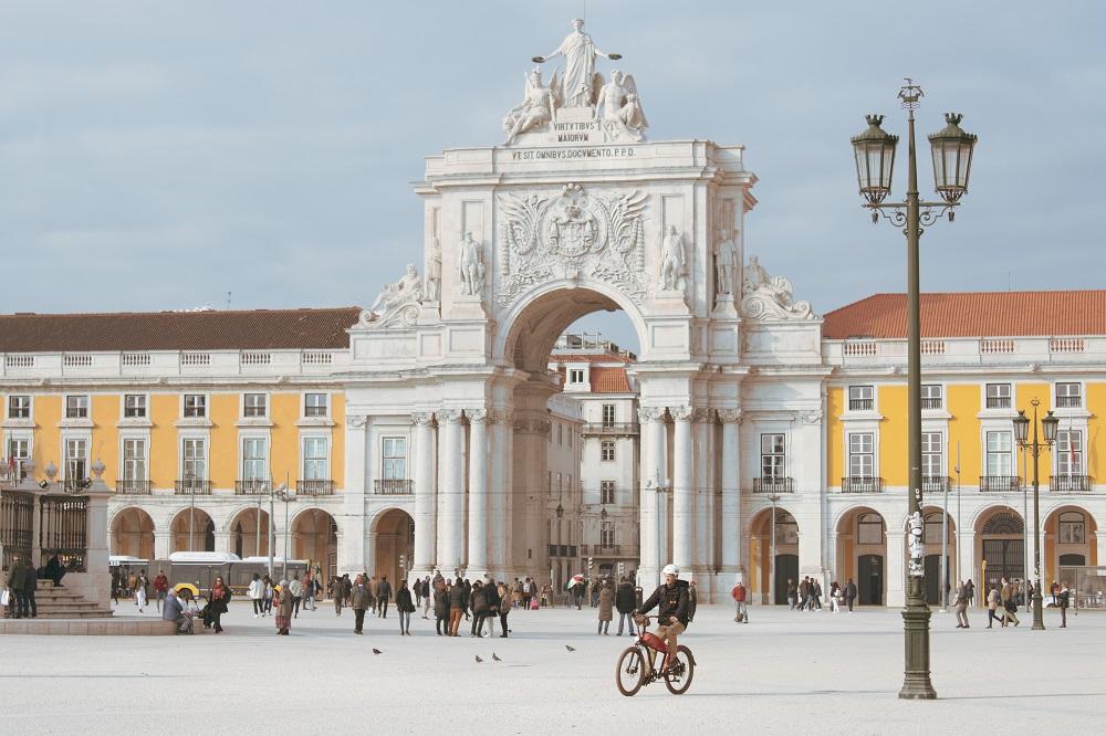 Praça do Comércio Lisbon Spain