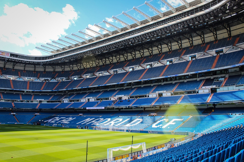 Make sure watching a Real Madrid match is listed in your Spain itinerary