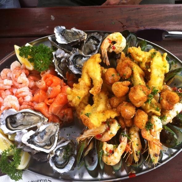 Makanan halal di New Zealand: Seafood restaurant Auckland