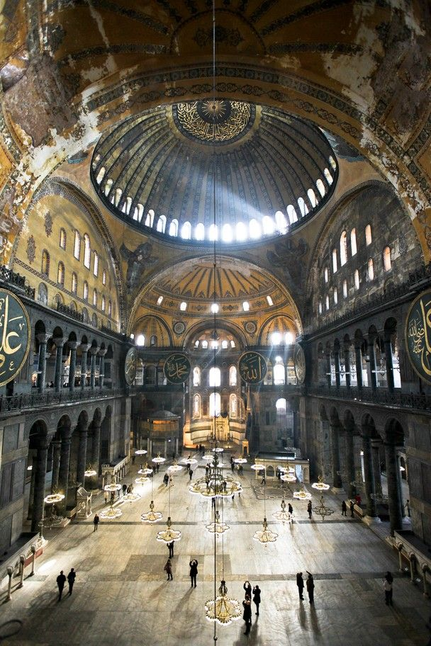 historical places in turkey - hagia sophia