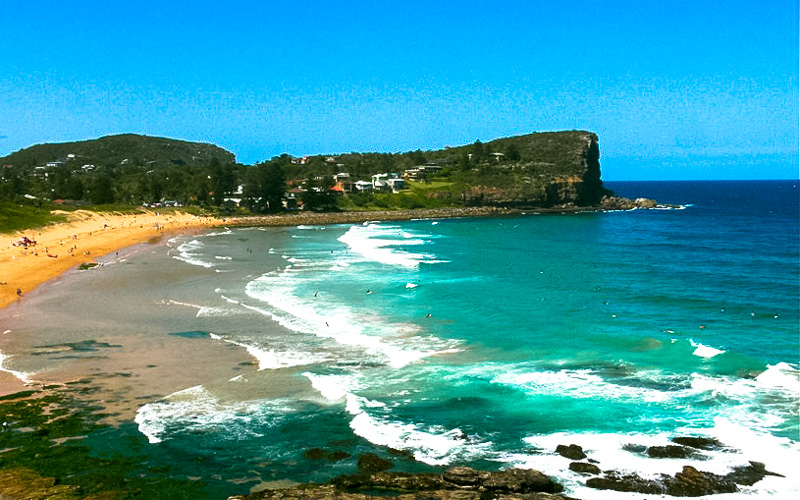 Avalon beach is one the beautiful hidden places in Sydney