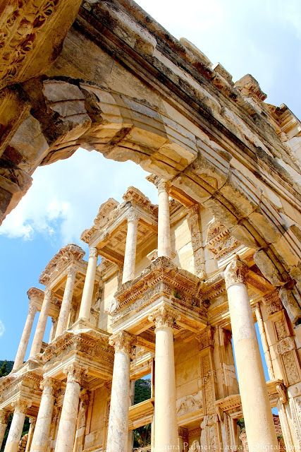 The ruins of Ephesus in Selcuk