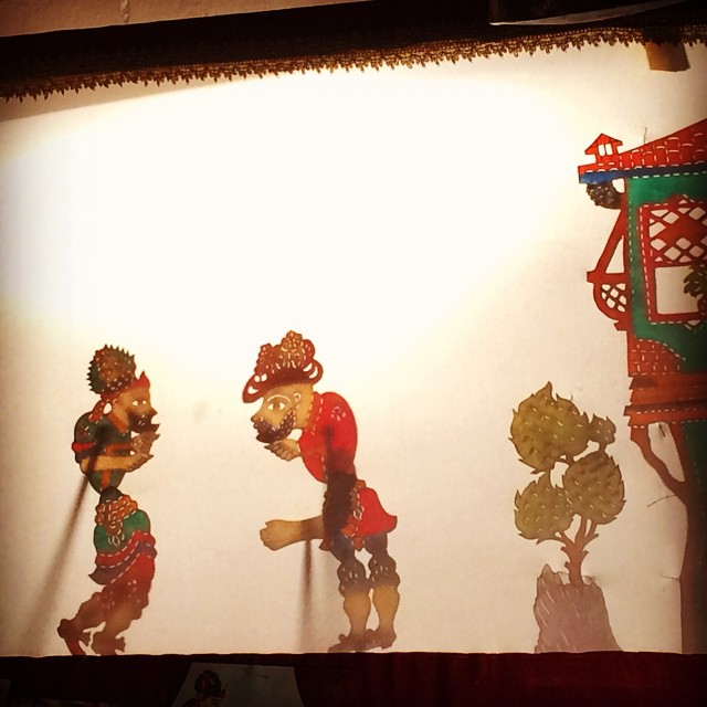 Ramadan celebration in turkey: Karagöz and Hacivat Shadow Theatre is a Turkish Storytelling Tradition. The two main characters are Karagöz and Hacivat.