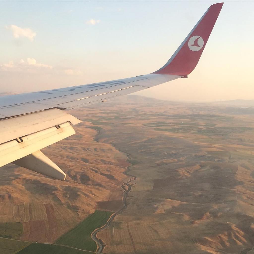Penerbangan ke Cappadocia Turki