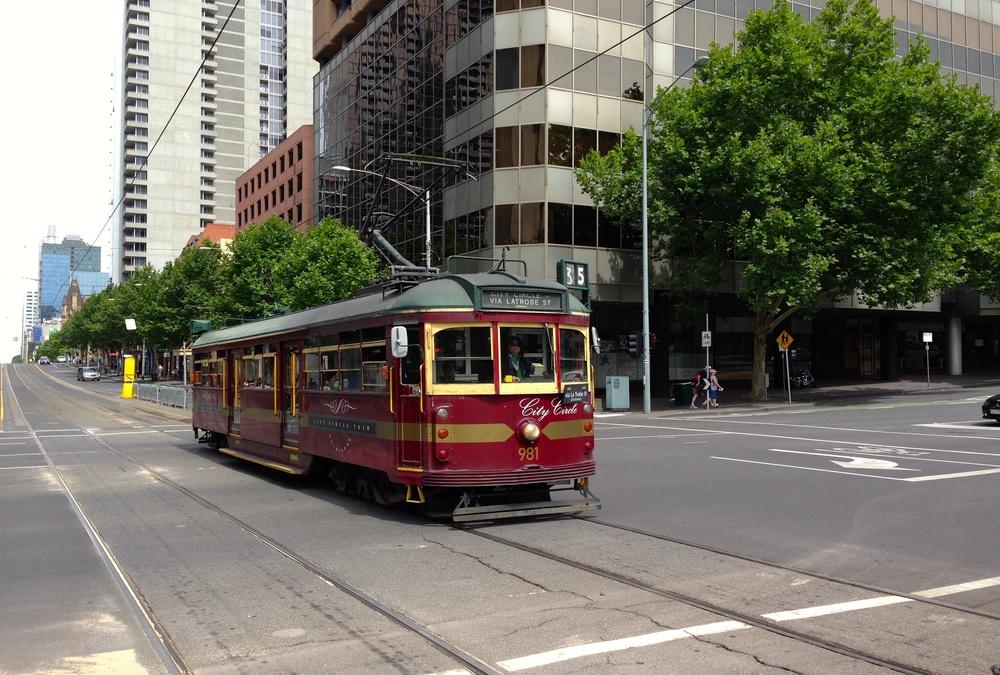 Tramp in Melbourne