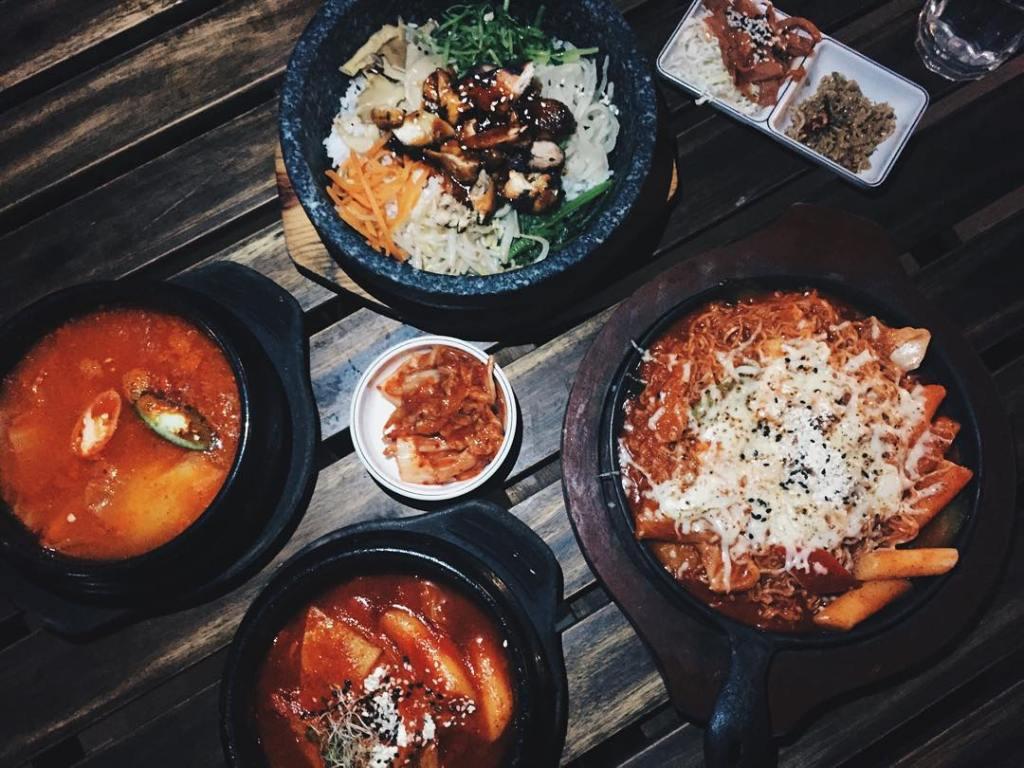 Restoran Korea Halal, The Street Cafe / K Street