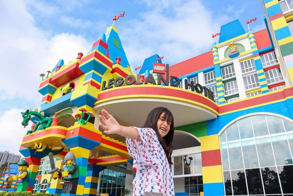 The beautiful LEGOLAND Hotel promises a fun night stay there
